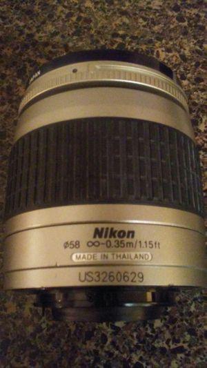Nikon Nikkor DSLR Digital Camera Lens 28-80mm for Sale in Midlothian, VA