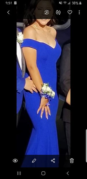 Prom Dress Royal Blue for Sale in San Pedro, CA