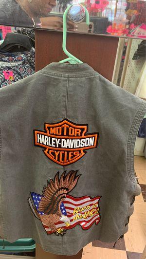 Harley Davison vest for Sale in Tulsa, OK