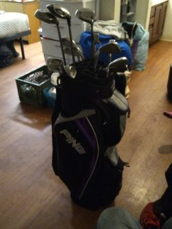 Ping Golf Bag, Golf Balls, And Clubs for Sale in Phoenix,  AZ