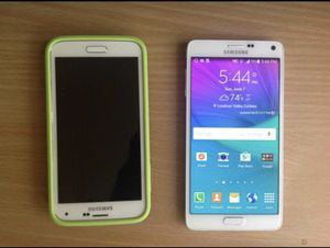 Samsung Galaxy S5 16Gb and Note 4 32Gb Sprint for Sale in Ashburn, VA