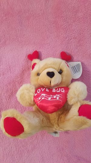 """Brand new Valentine's day """"love bug"""" bear for Sale in Williamsport, PA"""