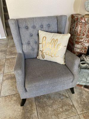 Grey Armchair for Sale in Murrieta, CA