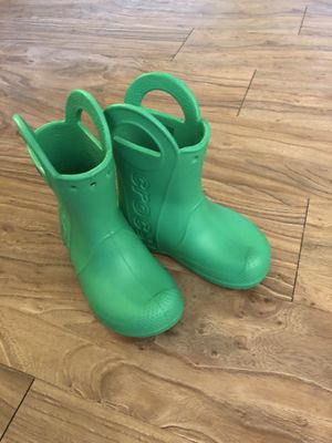 Crocs rain boots brand new size 9 for Sale in Austin, TX