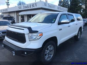 2015 Toyota Tundra Platinum - Leather - 4x4 - Lifted for Sale in Milwaukie, OR
