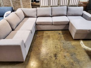 Modern Sectional Sofa, Light Grey for Sale in Santa Ana, CA
