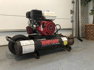 Portable Honda Gas Air Compressor for Sale in Duvall, WA