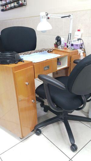 Mesas manicure for Sale in Miramar, FL