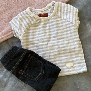 12 Month Baby Girl Set $1.50 For Both for Sale in Anaheim, CA