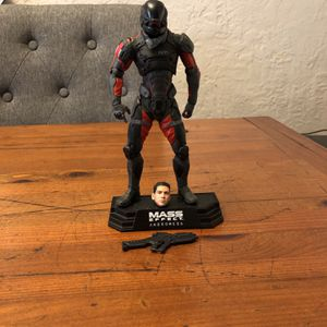 Mass Effect Andromeda Sean Ryder McFarlane Toys action figure loose complete for Sale in Puyallup, WA