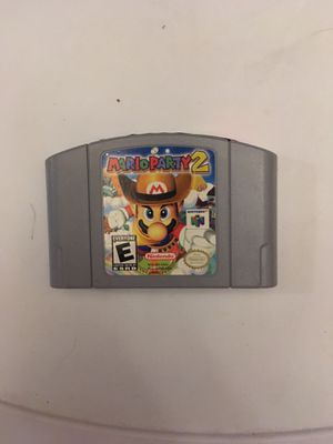 Mario party 2 for Sale in Plano, TX