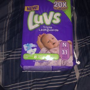 Newborn Diapers Luvs for Sale in Phoenix, AZ