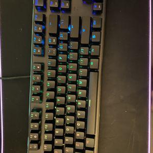 Gaming keyboard ( Brown Keys) for Sale in Ontario, CA