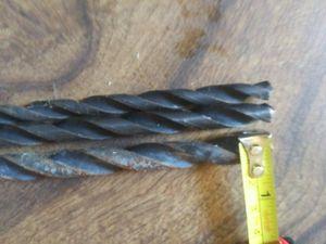 Three 25.5inch drill bits for Sale in Terre Haute, IN