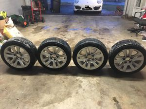 "BMW OEM 17"" RIM and Michelin pilot super sport x4 80% tread mark for Sale in Rockville, MD"