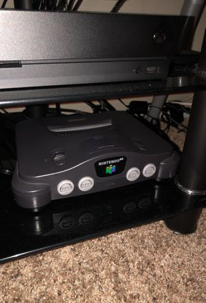 Nintendo 64 Console and 13 games with 2 controllers for Sale in Houston, TX