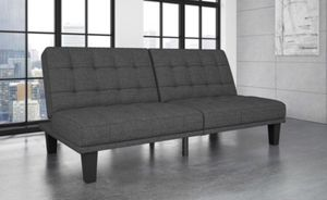 Dexter Futon Lounger - Gray - Dorel Home Products. In box 📦 for Sale in Las Vegas, NV