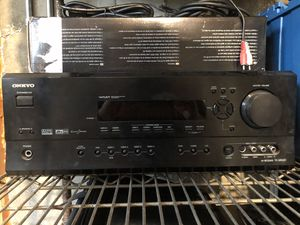 Onkyo TX-SR600 A/V Receiver for Sale in Ipswich, MA