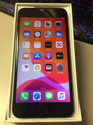 Att Cricket iPhone 7+ 32gb Black for Sale in San Jose, CA