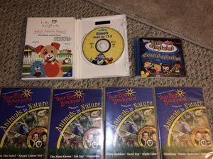 Little Einstein's, Elmo's, animals in nature's DVD for Sale in Temple City, CA