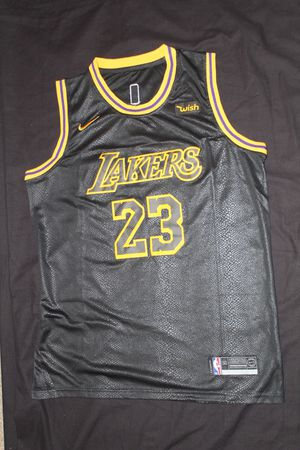 large nike lebron james lakers jersey for Sale in Lithonia, GA