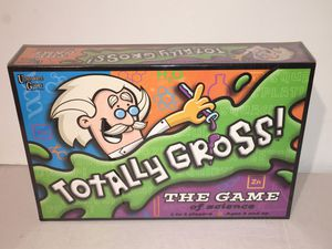 Totally Gross! The Game Kid's Board Game NEW SEALED for Sale in Raleigh, NC