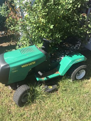 Weed eater riding lawn mower for Sale in Providence, RI