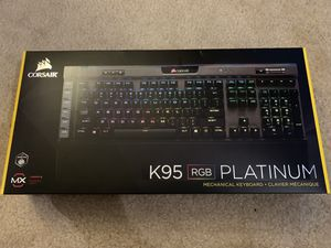 Corsair K95 RGB Platinum Keyboard (Gun Metal) for Sale in La Vergne, TN