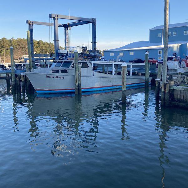 50 Ft Aluminum Work Boat