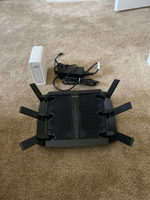 Netgear Nighthawk X6 Router with Cable Modem for Sale in Las Vegas, NV