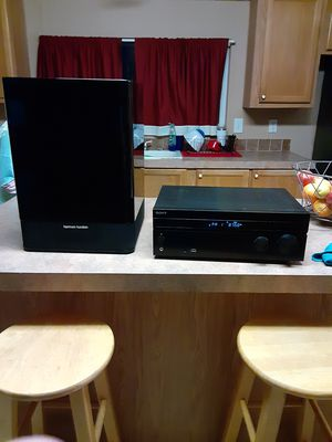 Subwoofer and receiver for Sale in San Antonio, TX