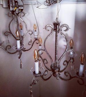 2 Crystal Chandeliers for Sale in St. Petersburg, FL
