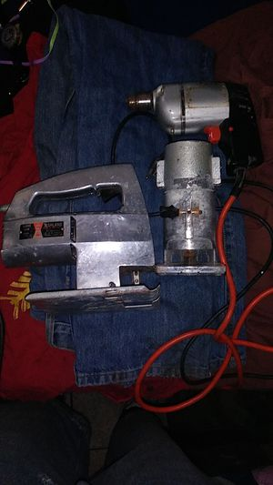 Sabre saw, wood trimmer, electric drill for Sale in Wichita, KS