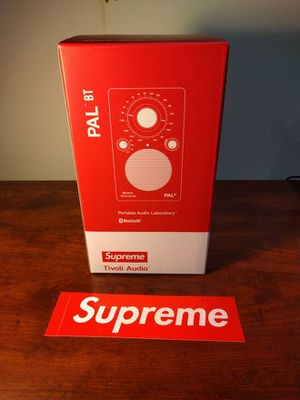 Supreme tivoli Bluetooth speaker for Sale in Raleigh, NC