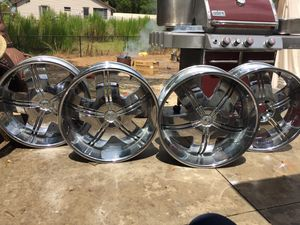 Rims chrome 24 in. for Sale in Ruskin, FL