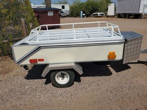 Motorcycle/small car self erecting tent camper.motorcycle camping trailer for Sale in Apache Junction, AZ