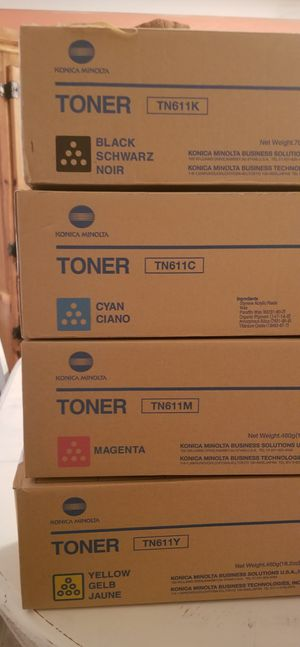 Konica minolta toner. for Sale in Winter Haven, FL