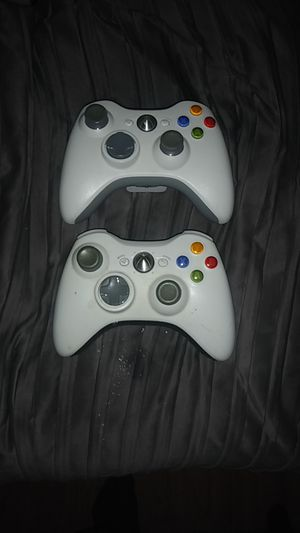 Two Xbox 360 wireless controllers in perfect condition. Price won't be beat$$$$ for Sale in Lawrenceville, GA