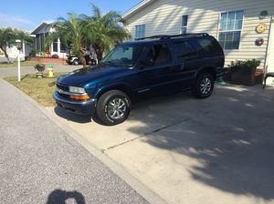 2001 Chevy Blazer 4wd 4.3L v6 162,000 miles $2200 or trade for van for Sale in N REDNGTN BCH, FL