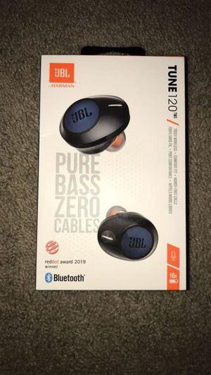 JBL Tune 120 TWS true-wireless headphones (black). for Sale in Los Angeles, CA