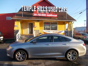 2015 Chrysler 200 4dr Sdn Limited FWD for Sale in Temple Hills, MD