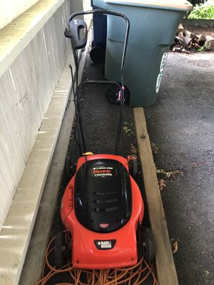 Electric Lawn Mower for Sale in Seattle, WA