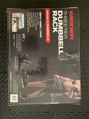 Weider Three Tier Dumbbell Rack for Sale in Costa Mesa, CA