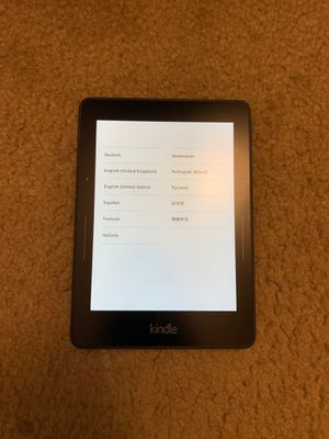 kindle paperwhite e-reader small size with case for Sale in Lancaster, PA