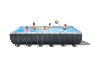 24ft by 12 Ultra Frame Pool with Sand Filter Pump for Sale in La Habra Heights, CA