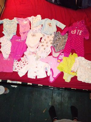 Baby girl clothes 0-3 months for Sale in Dresden, OH