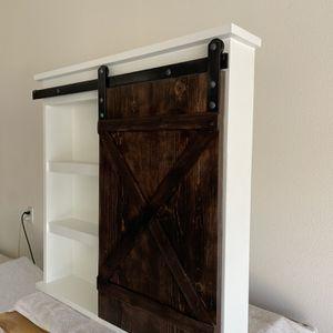 New Sliding Barn Door Bathroom Cabinet for Sale in Jurupa Valley, CA
