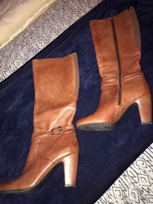 Antonio Melani Leather Boots for Sale in Garland, TX