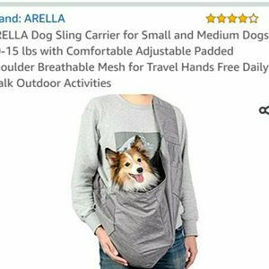 Arella small dog sling for Sale in Olympia, WA