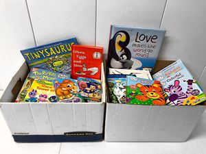 Two Full Boxes of kids books! for Sale in Orange, CA